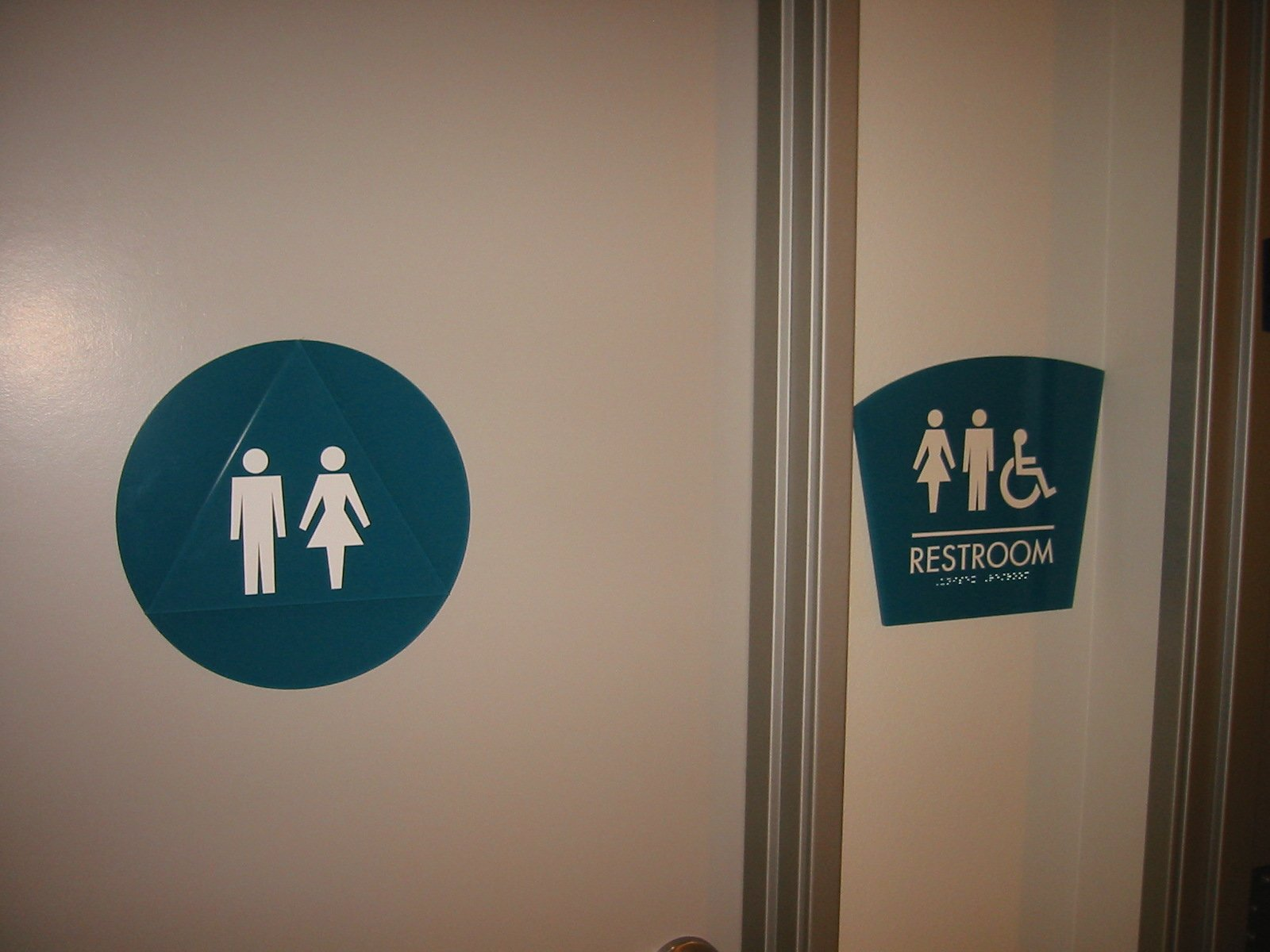 Medical ADA Restroom Signs