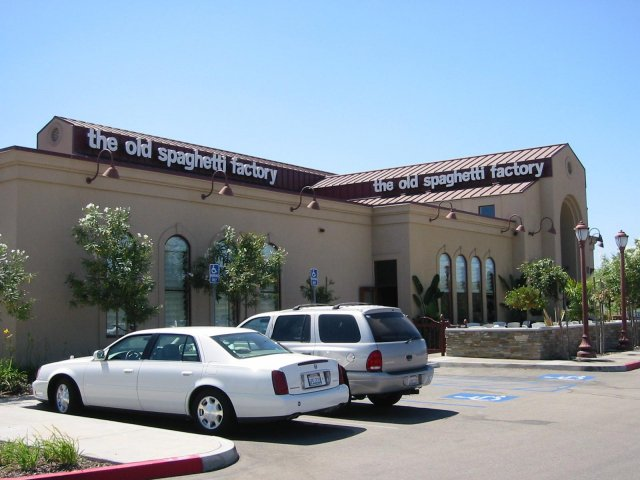 The Old Spaghetti Factory - San Marcos, CA