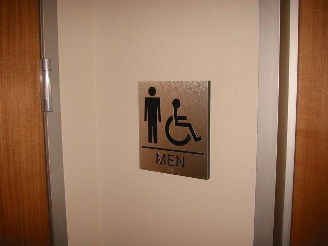 Restroom ADA Sign