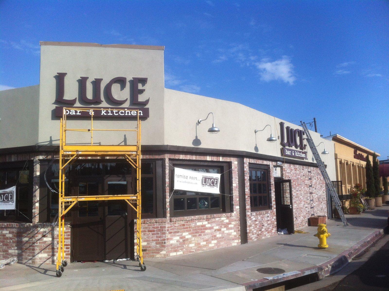 Luce Bar & Kitchen- San Diego